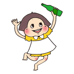 昭和レトロな女の子