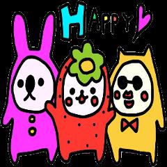 イチゴの妖精と仲間たち 2