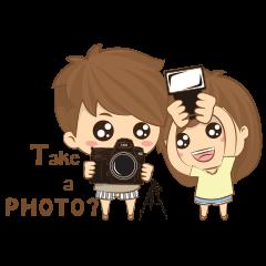 little photographer & fat girl V2 (Eng)