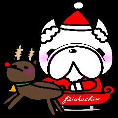 フレンチブルドッグ×クリスマス