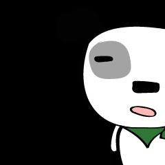 四角い白犬さんで「備後弁・広島弁」