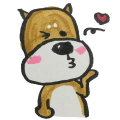 [LINEスタンプ] 憂鬱な犬の画像(メイン)