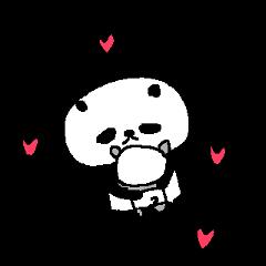 英語のラブパンダ English Panda love