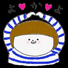 博多弁のボーダー女子