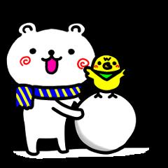 シロクマちゃん3 冬Ver