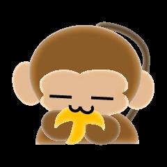 サルのスタンプ2