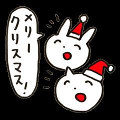 ほほえましいクリスマス&お正月