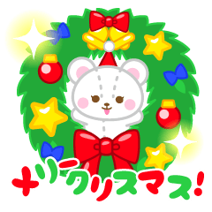 クリスマススタンプ 【プチアニマル②】