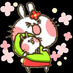 結婚~出産ウサギ!