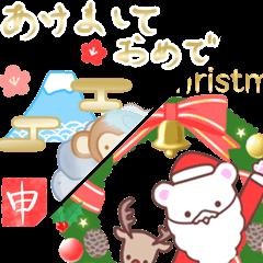 クリスマス・お正月2016