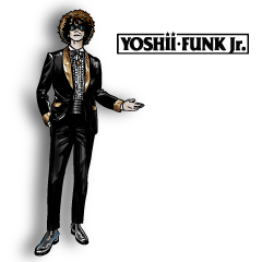 YOSHII FUNK Jr. STICKER