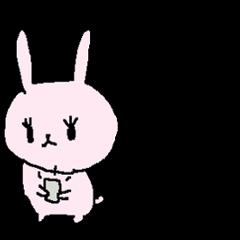 可愛いウサギのお仕事敬語