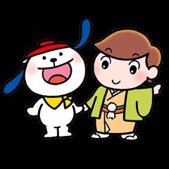 露の団姫&ぽーろスタンプ
