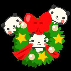 年末年始おめでとうパンダ
