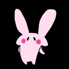 自由すぎるウサギ!!!